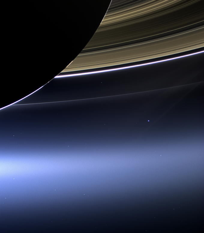 Photos Of The Earth From Saturn Mercury Mars Amp Deep