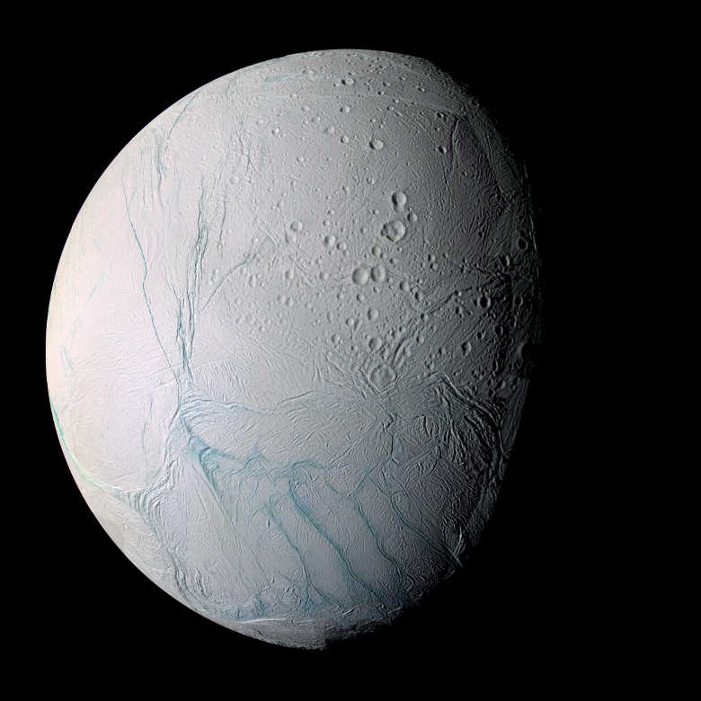 Saturn's Moon Enceladus Has a Warm Ocean, Could Have Life