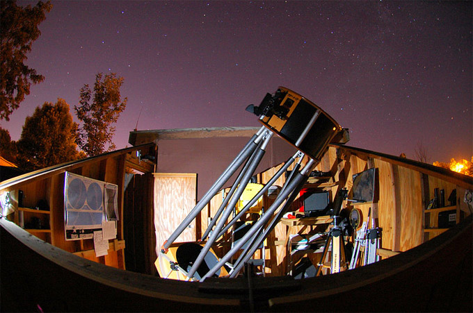 An Introduction To Backyard Observatories Space Facts