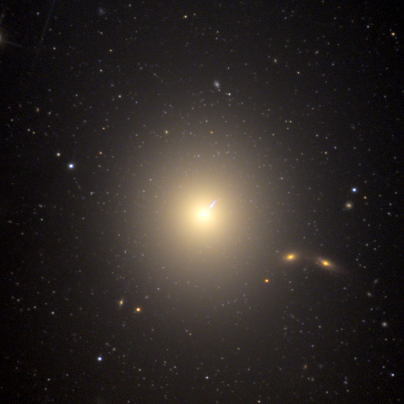 M87 Galaxy (Messier 87...