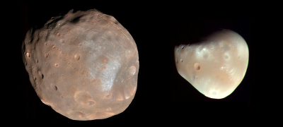 Phobos and Deimos (Mars' Moons)
