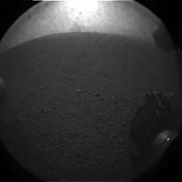 Mars Curiosity Horizon