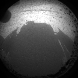Mars Curiosity Shadow