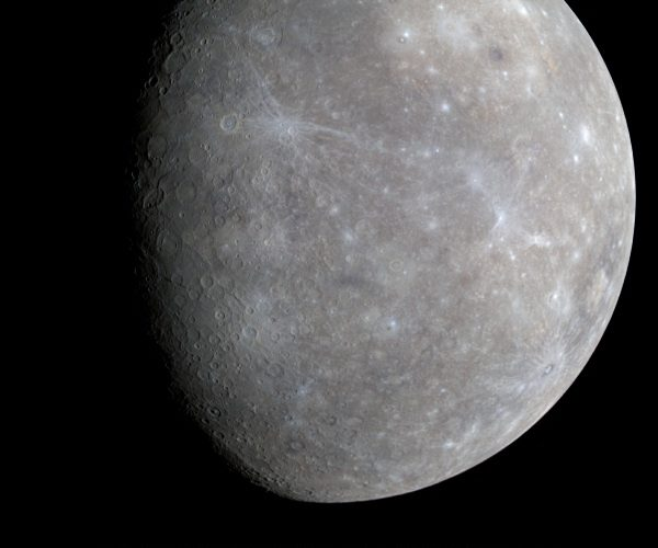 Mercury Fact: Mercury has been visited by just two spacecraft