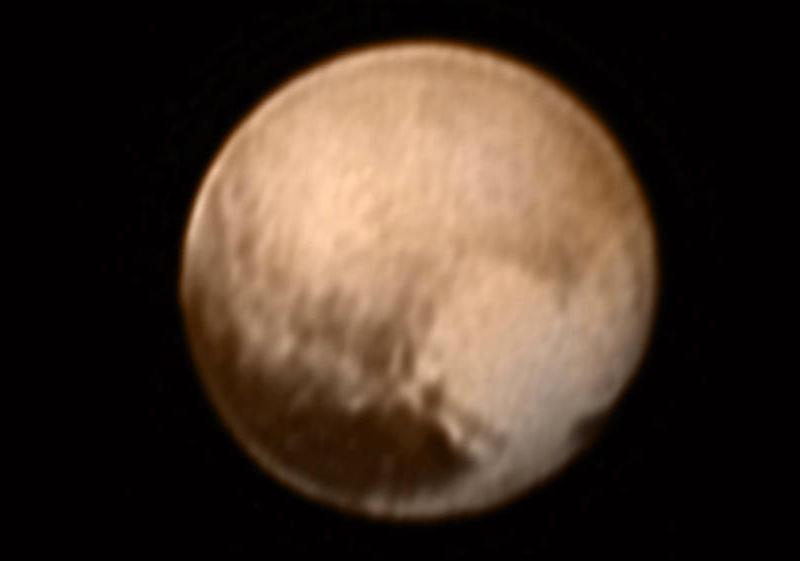 Pluto 8 million km – July 8th 2015