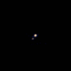 First Pluto & Charon Colour Image