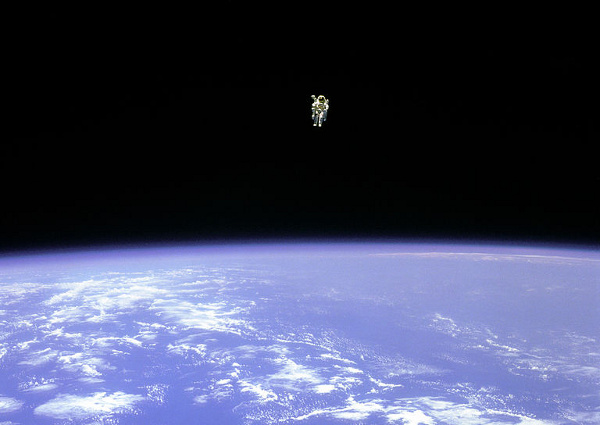 Bruce McCandless Spacewalk