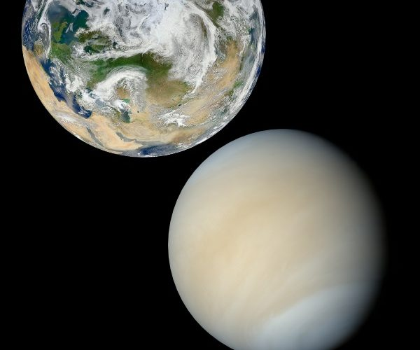 Venus Fact: Venus is known as the Earth's sister planet