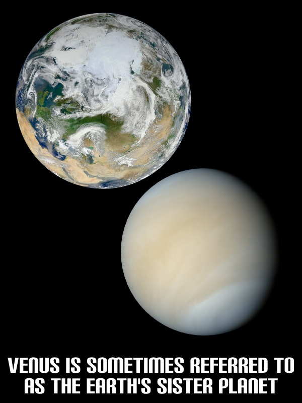 venus and planet earth - photo #11