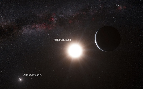 Alpha Centauri Artists Concept