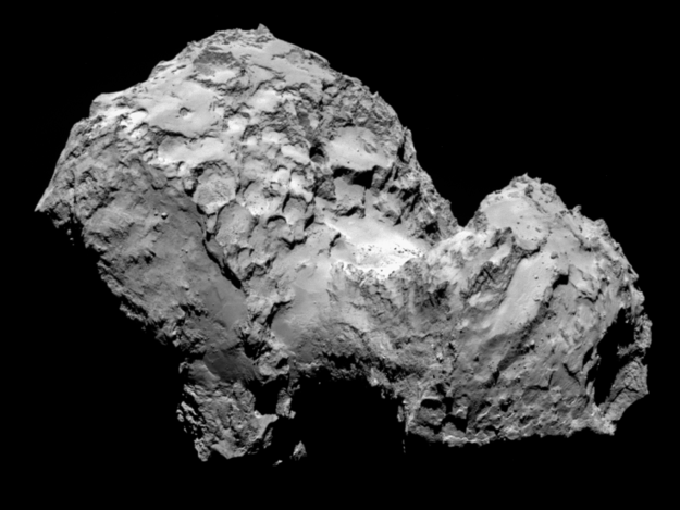 Comet 67P/Churyumov–Gerasimenko from Rosetta Probe