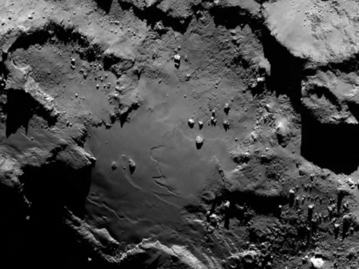 Comet 67P/Churyumov–Gerasimenko Surface