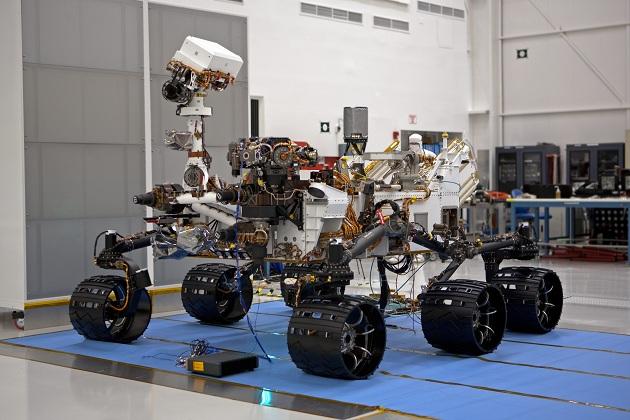 Mars Curiosity Rover in the Lab