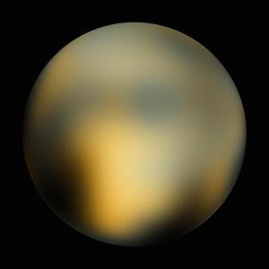 Pluto Hubble Map